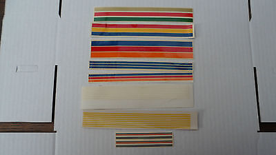 Mabex lining transfers/decals x 8 sets suit code 3/bus/lorry