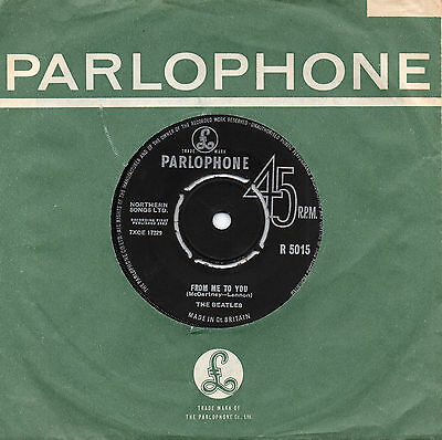 THE BEATLES from me to you*thank you girl 1963 UK PARLOPHONE 45