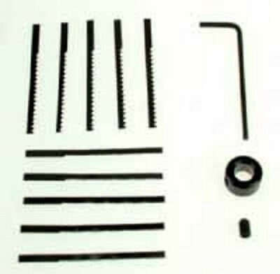 RC9007 RotaCraft Accessories Spare Blade Set for RC40 Jigsaw 5x Fine & 5x Coarse