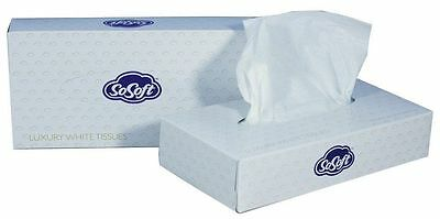 Professional Facial Tissues White 2ply 100 sheet in a pack - 21cmX19cm