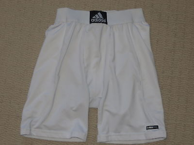 Boys Adidas Climalate Pocket Cup Base Layer Compression Shorts Youth Large