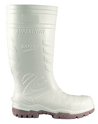 Cofra Safest White Food Industry Wellington Boots With Composite Toe Caps Pre