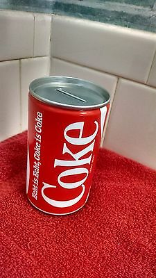 Coca-Cola 12 oz Can Coin Bank From Holland-Vintage Echt is Echt, Coke is Coke