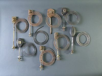 Job lot of vintage mantel clock chimes gongs & parts - spares craft work