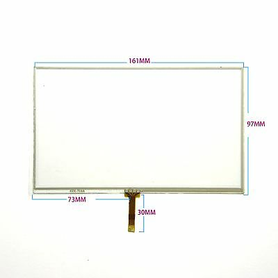 7  Inch Touch Screen Digitizer Resistive screen for Navigation 161mm x 97mm