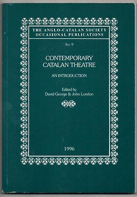 En Ingles - Contemporary Catalana Theatre - D.george Y J.london