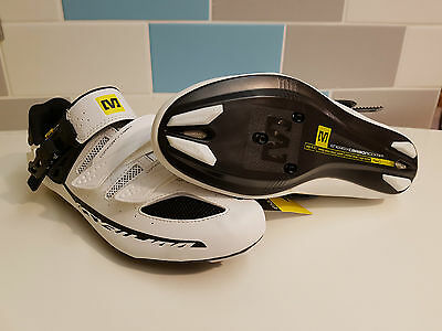 Mavic Ksyrium Elite road cycling shoes Size UK 8/42