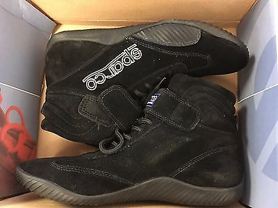 Sparco 00127011N Race Black Driving Shoe SIZE 11 NEW OPEN BOX