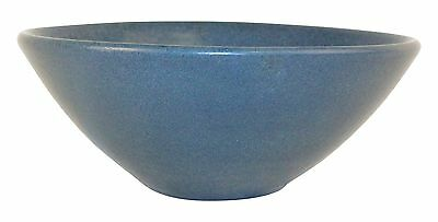 Marblehead Pottery Matte Blue Bowl