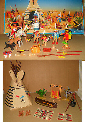 Playmobil 3733 Indianer-Sippe/Tipi in OVP - anschauen!