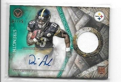 Dri Archer Lot Of 2 Different Certified Autograph Rookie Cards,& A Rookie Jersey