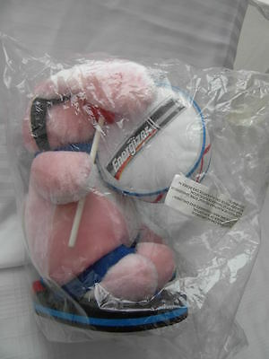 """ENERGIZER batteries BUNNY with Drum 15"""" pink PLUSH DOLL MASCOT NEW SEALED"""