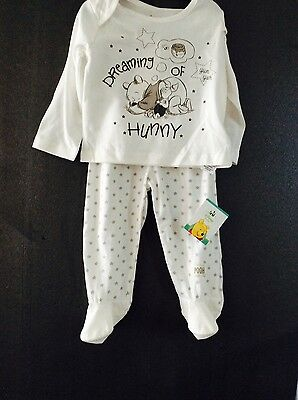 Brand new baby two-piece Winnie the Pooh set, age 9-12 months