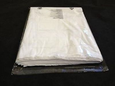 100 clear polypropylene Cellophane display garment bags clothing all size shirts