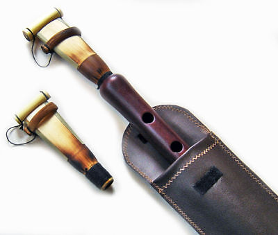 PRO DUDUK Armenian 2 Reed LEATHER Case PLAYING INSTRUCTIONS - Oboe Mey Flute Ney