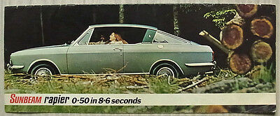 SUNBEAM RAPIER H120 LF Car Sales Brochure 1970-71 #C5547/H