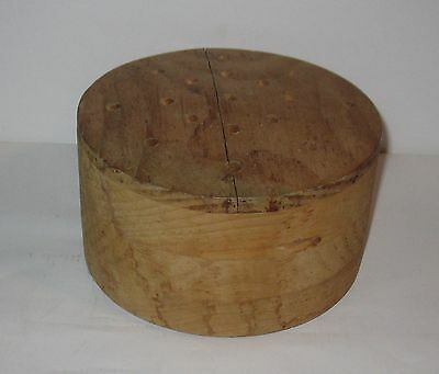 Vintage Wooden Hat Mold  No 22   FREE SHIPPING