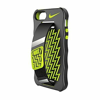 Nike iPhone 5/5S Cellphone Case Black Volt As-Is