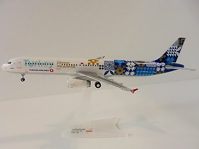TURKISH AIRLINES Airbus A321 1/200 Herpa 557900 A A321 DISCOVER THE POTENTIAL