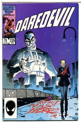 Marvel Comics Daredevil #239! 1987! NM! Near Mint!
