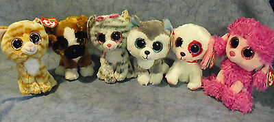 W-F-L TY Beanie Boos Beanie Boos free large selection Dog Cat Stuffed toy