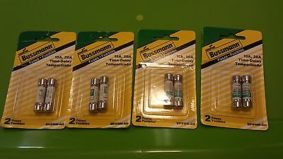 Bussman 15A 20A Fuse Time Delay BP/FNM-AH - BRAND NEW - 4 packages