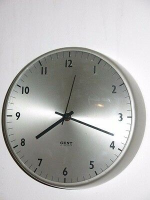 Vintage Industrial Gent Of Leicester Wall Clock
