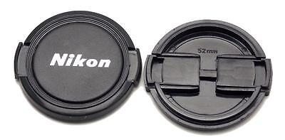 One New Nikon 52mm Front Lens Cap for Nikkor Nikon Lenses