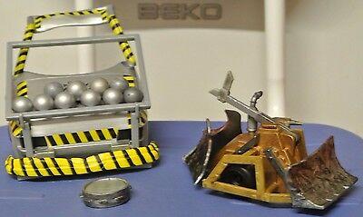 """Robot Wars Rare Shunt complete with accessories apr 5""""-6"""""""