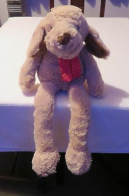 Beautiful Soft Toy Dog Hottie with Microwaveable wheat bag.  Superb condition