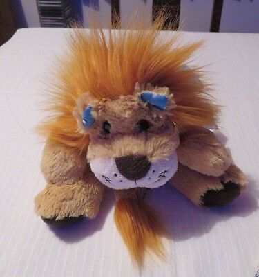 Adorable Soft Toy Lion Hottie with Microwaveable wheat bag.  Superb condition