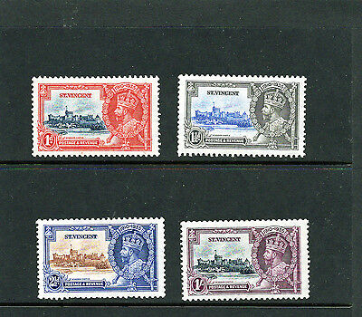 ST VINCENT 1935 Silver Jubilee of KGV set , comp. Mtd MINT