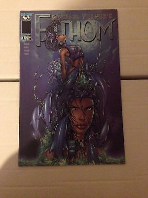 Fathom #1 VF Michael Turner Top Cow Image Comics