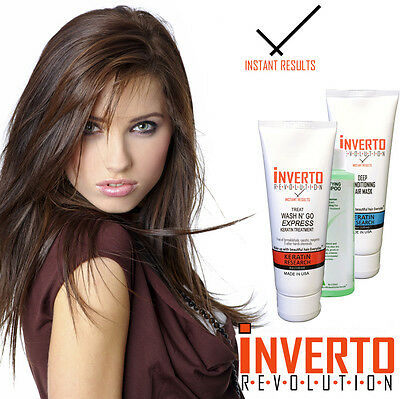 Keratin Research INVERTO Brasilianisches Blowout FORMALDEHYDFREI
