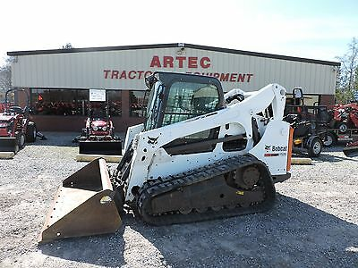 2012 Bobcat T750 Multi Terrain Loader - Caterpillar - Cab With Heat And Cold A/c
