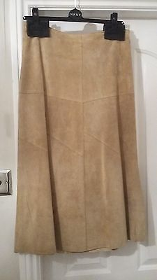 Suede Skirt Size 10