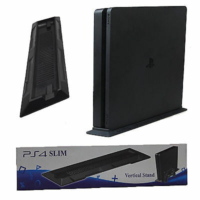 Playstation 4 vertical Halter Position Stand Support pied noir pour PS4 Mince
