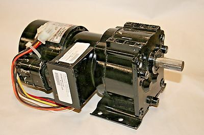 AC Gearmotor 115/230V Nameplate - RPM 30 MAX- Torque 135 in. -lb.