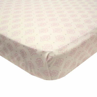 Arianna Fitted Crib Sheet Toddler by The Peanut Shell