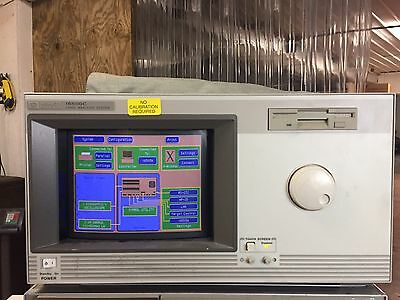 HP Agilent 16500C Logic Analysis System Mainframe W/ Some Cables And Power Cord
