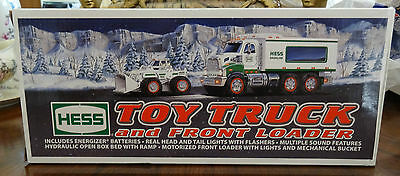 Brand New 2008 Hess Toy Truck & Front Loader