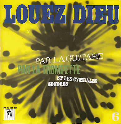 """Noel Colombier Louez Dieu 6   7"""" 1968 France EP   ex+++ to near mint FAST POST"""