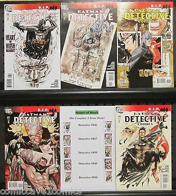 Detective #850 849 848 847 846 |Heart of Hush | Catwoman Poison Ivy Harley Quinn