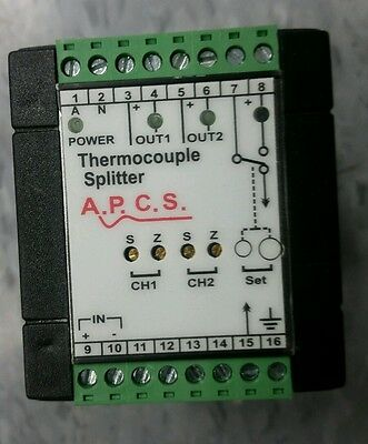 *NEW*  TCS726-22200 thermocouple splitter