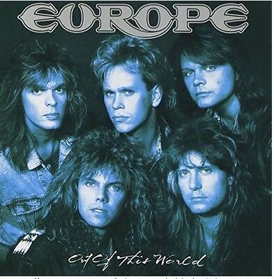 EUROPE / Out Of This World CD w/OBI Japan