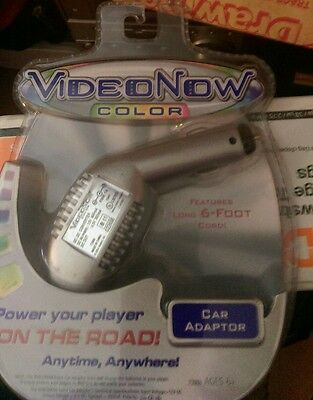NIP Hasbro Tiger Electronics VideoNow Color Car Adaptor PVD