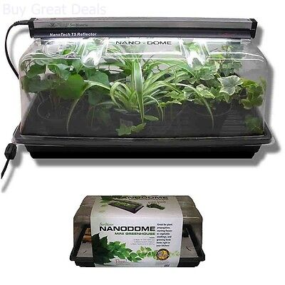 Horticulture Germination Sun Tray Kit Seed Starter Plant Humidity Dome Garden