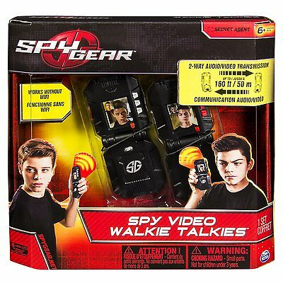 Spy Gear Video Walkie Talkies NEW Kids Toys