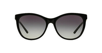 NWT Burberry Sunglasses BE 4199 3001/8G Black / Gray Gradient 58 mm 30018G NIB
