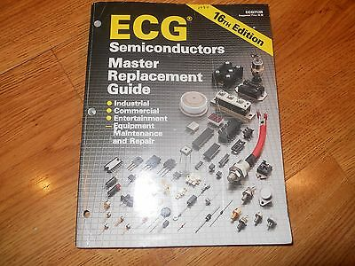 Ecg semiconductors master replacement guide 1994 sc $12. 50.
